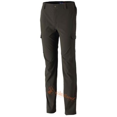 Wildland 荒野 0A32398-38墨綠色男 RE彈性粗曠多口袋長褲
