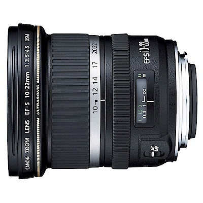 CANON EF-S 10-22mm f/3.5-4.5 USM 超廣角變焦鏡頭*(平輸)