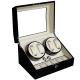 PARNIS BOX 自動上鍊盒4+6只入 鋼琴烤漆手錶收藏盒 自動08-BW product thumbnail 1