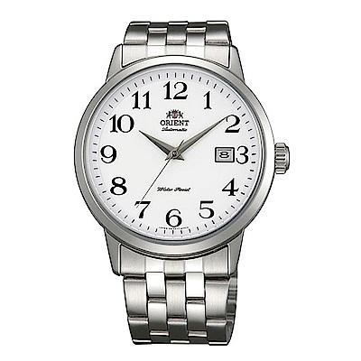 ORIENT 魅力型男自動上鍊機械腕錶(FER2700DW0)-白/41mm