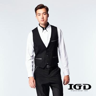 IGD英格麗-經典紳士西裝背心