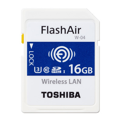 TOSHIBA FlashAir IV R90MB UHS-I U3 16GB 無線記憶卡