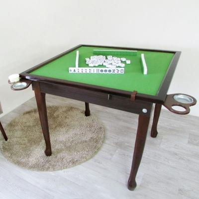 Amos-樂源高級實木摺疊收納麻將桌/折疊桌-寬90.3x深90.3x高77cm