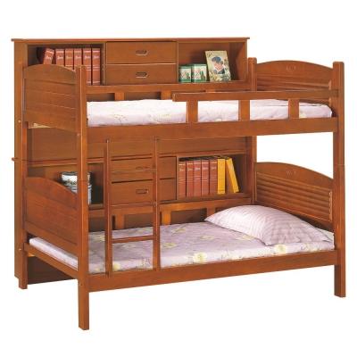 愛比家具 奇班3.75尺邊櫃雙層床組(兩色可選.不含床墊)