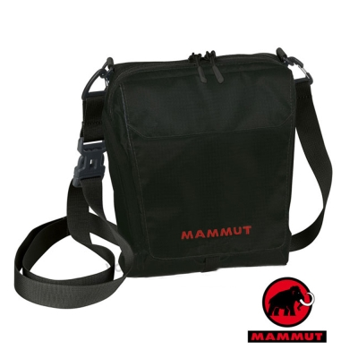 【MAMMUT 長毛象】新款 Tasch Pouch 抗撕裂側背包 3L /斜背包/黑