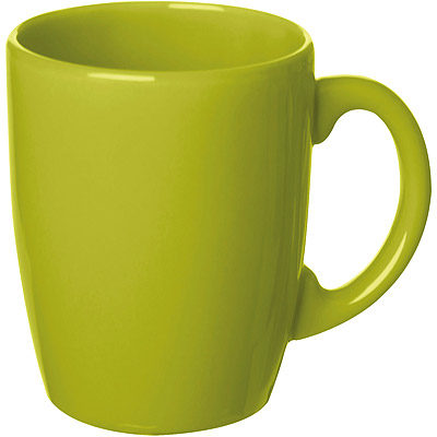 EXCELSA 陶製馬克杯(綠260ml)