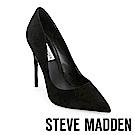STEVE MADDEN-DAISIE 素面尖頭高跟鞋-絨黑色