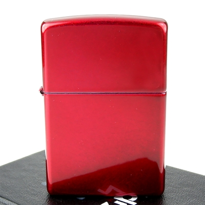 ZIPPO美系~Candy Apple Red-蘋果糖紅色烤漆打火機