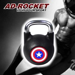【AD-ROCKET】頂級鑄鐵競技壺鈴-14公斤 Kettlebell