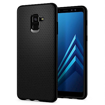 Spigen Galaxy A8+ (2018) Liquid Air-超輕薄型...