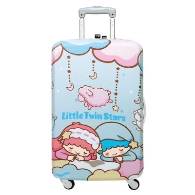 LOQI 行李箱套-雙子星 白日夢(L號 適用28吋以上行李箱)