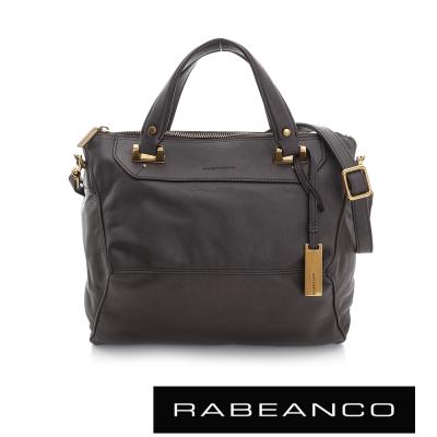 RABEANCO OL 時尚粉領系列菱形包(小) - 暗灰