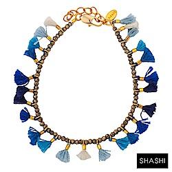 SHASHI JAMIE BRACELET 彩色流蘇 水晶幸運手鍊 海洋藍