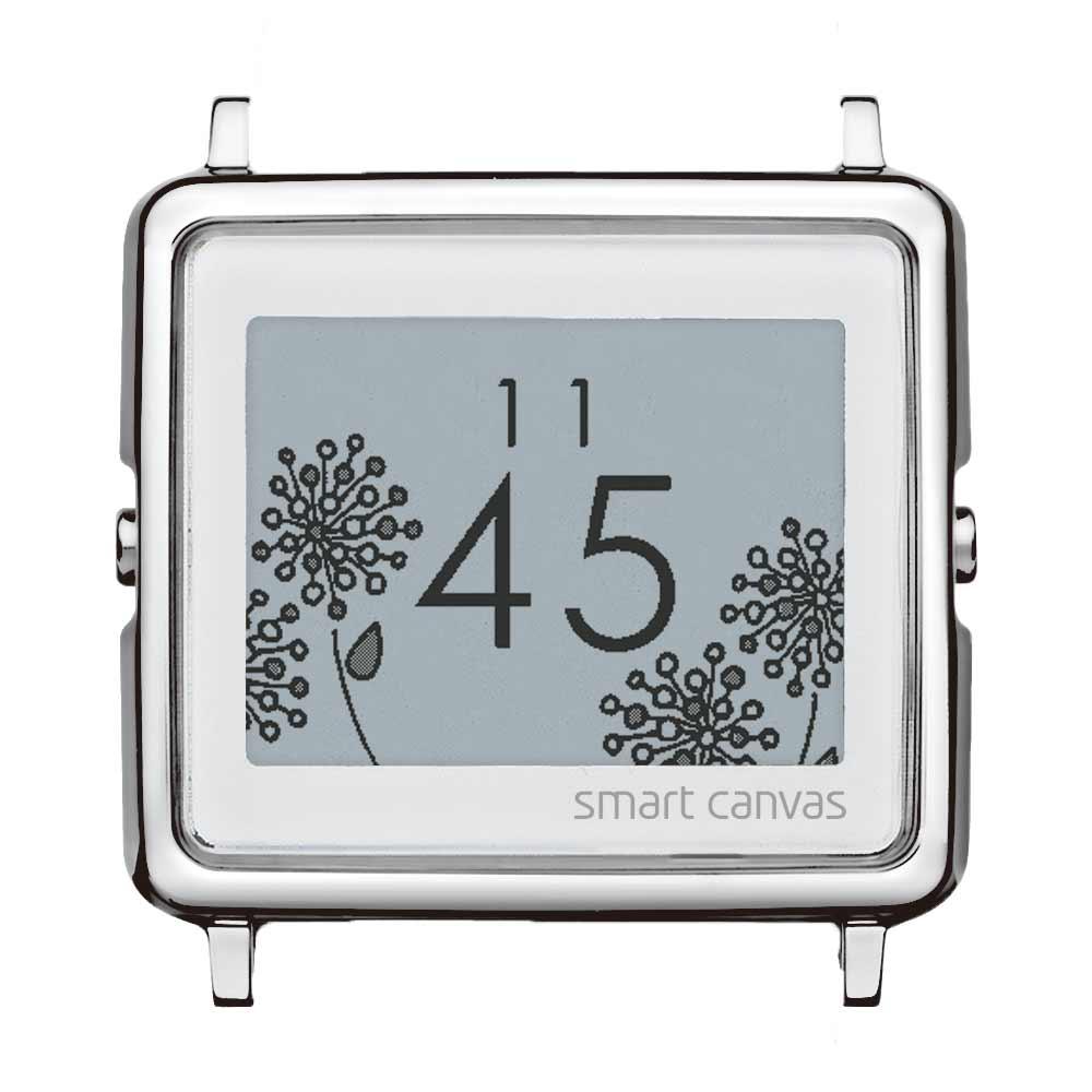 Smart Canvas 花漾錶盤 - 銀色款 (不含錶帶)