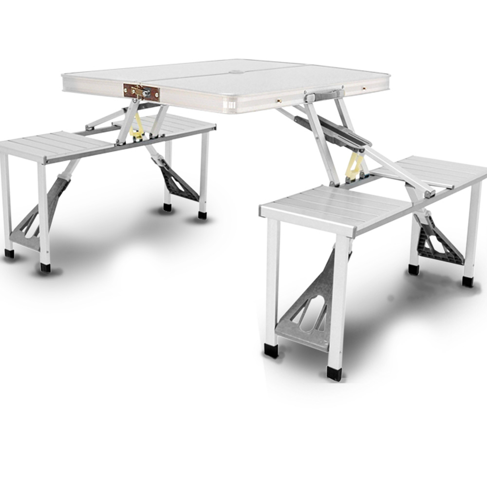 鋁合金摺疊桌椅組合
