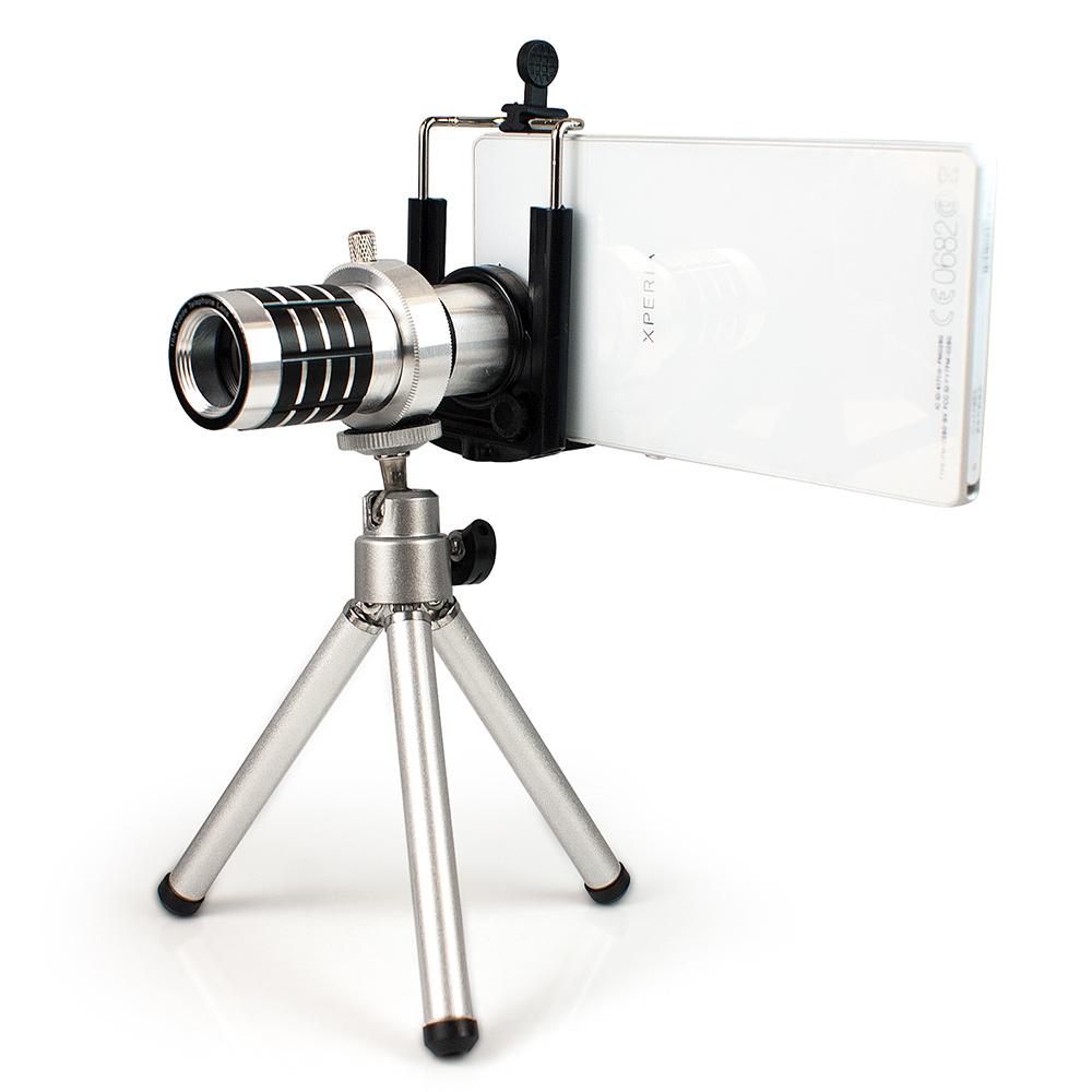 aibo 12倍 光學砲筒型 手機/平板萬用 長焦攝影望遠鏡頭