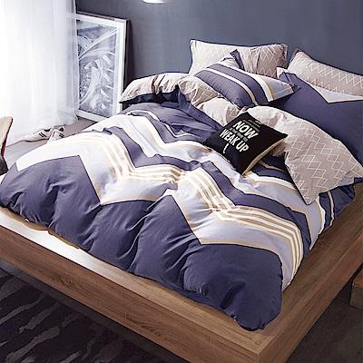 Ania Casa加州陽光 單人兩件式 100%精梳棉 台灣製 床包枕套純棉兩件組