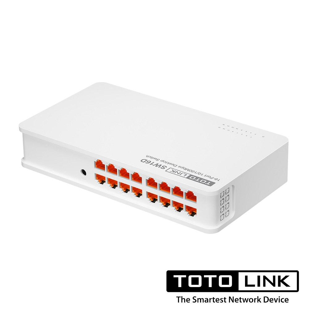 TOTOLINK SW16D 桌上型16埠乙太網路交換器