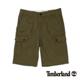 Timberland 男款橄欖綠多口袋休閒短
