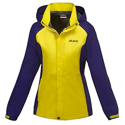 【ATUNAS 歐都納】女款防水GORE-TEX單件式外套A3-G1516W黃深紫