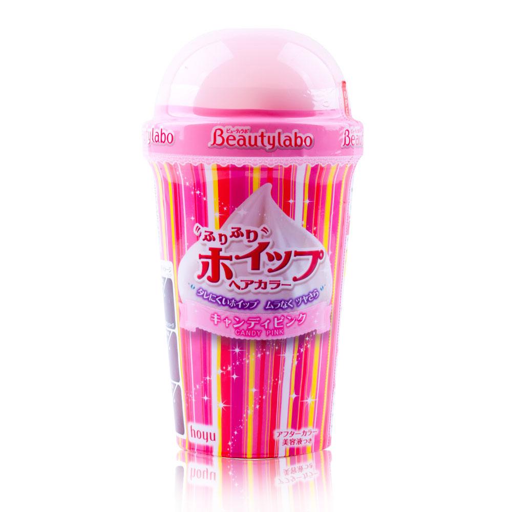 Beautylabo美芯研搖搖慕斯染髮劑-糖果粉紅