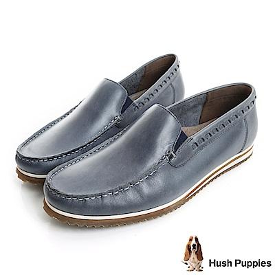 Hush Puppies BOLOGNESE 雅痞樂福鞋-藍