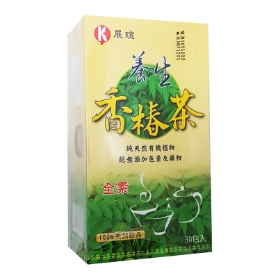 展瑄 養生香椿茶(3gx30包)