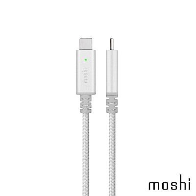 Moshi Integra 強韌系列 USB-C 充電編織線 (Smart LED款)