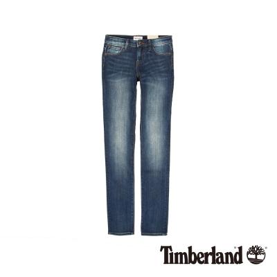 Timberland  女款穿舊感淺靛藍色Sunrise Lake 緊身牛仔褲