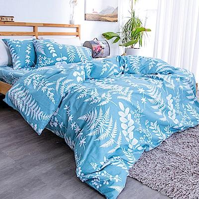 kokomos 扣扣馬 台灣製鎮瀾宮授權40支極致精梳棉雙人床包枕套三件組 北歐秘境