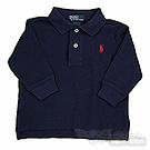 Ralph Lauren經典深藍長袖POLO衫