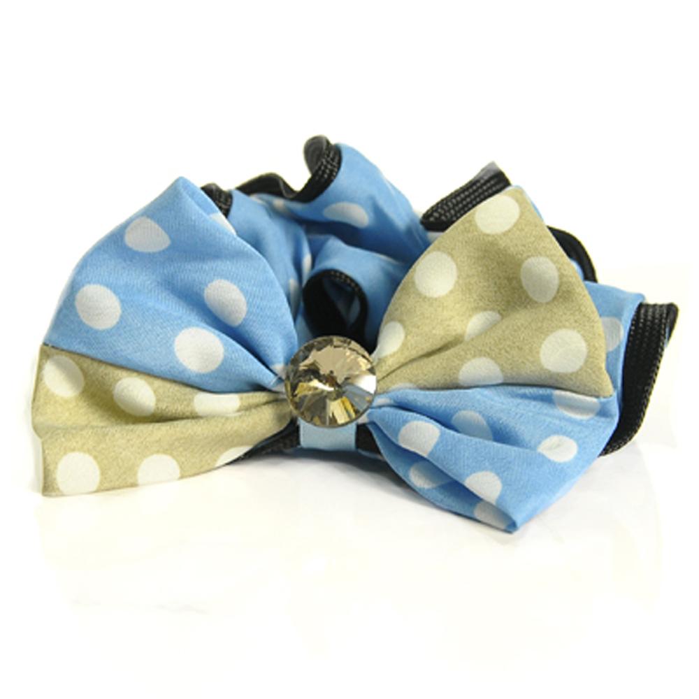 Aimee Toff 雙色蝴蝶俏麗造型髮束(藍)