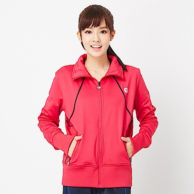 【TOPGIRL】立領剪接休閒外套-紅色