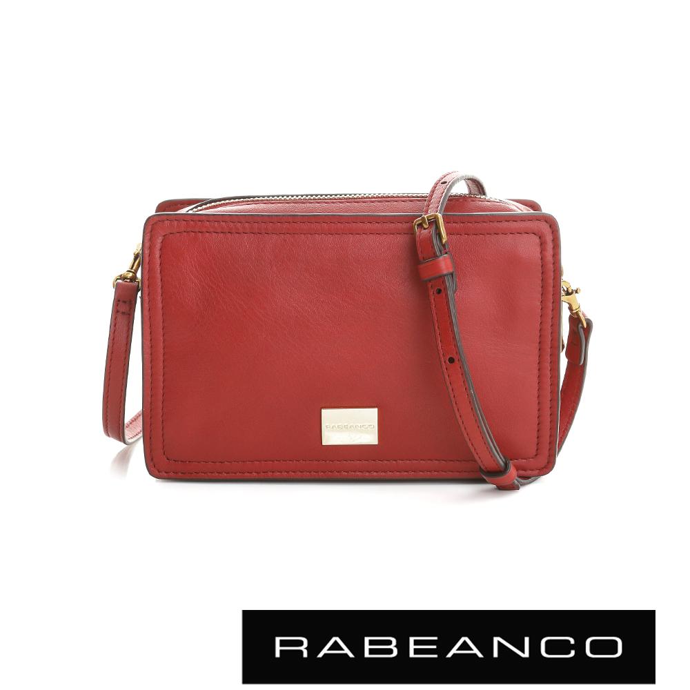 RABEANCO 心系列幸福方塊包 -石榴紅