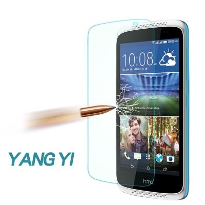 YANGYI 揚邑 HTC Desire 526 防爆防刮防眩弧邊 9H鋼化玻璃保護貼膜 @ Y!購物