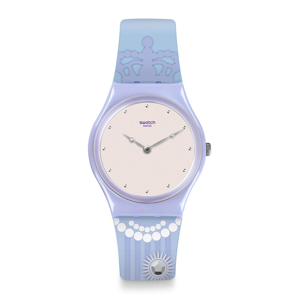Swatch 英倫風情 CURTSY 尊貴浪漫手錶