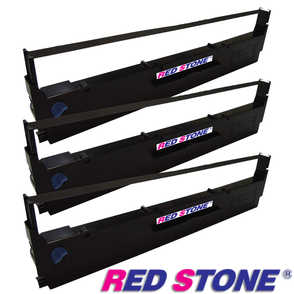 RED STONE for EPSON S015641/LQ310黑色色帶組(1組3入)