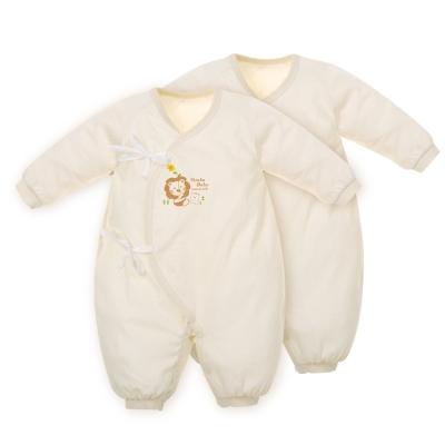 小獅王辛巴 大地系有機棉七分袖兔裝(60cm)二件組
