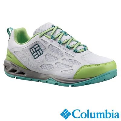 【Columbia哥倫比亞】女-水陸兩用鞋-白色 UBL26760WT