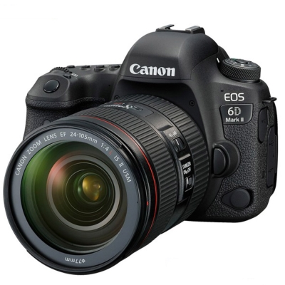 Canon EOS 6D Mark II+24 -105mm f/ 4LISII(公司貨)