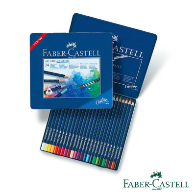 Faber-Castell 創意工坊水彩色鉛筆24色