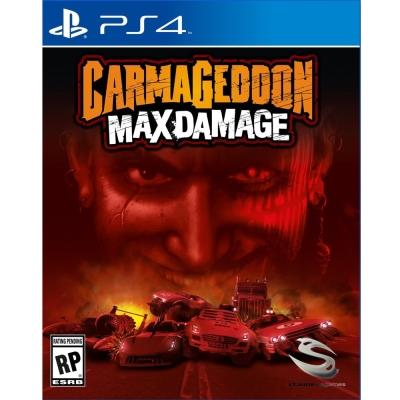 死亡賽車:再生 Carmageddon: Max Damage-PS4 英文美版