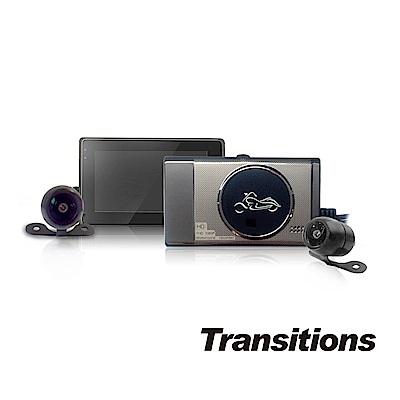 【凱騰】全視線 PX1000 1080P雙鏡頭高畫質機車行車記錄器
