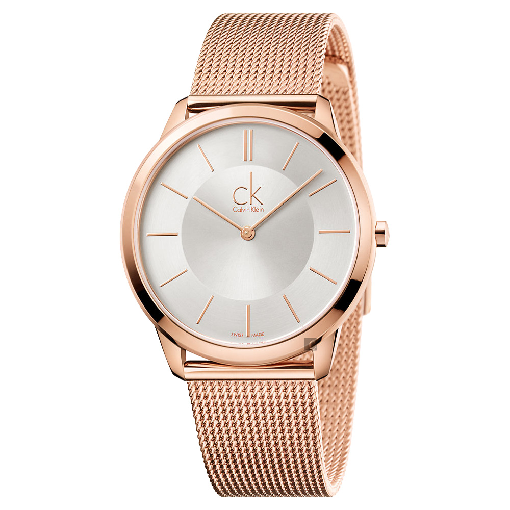 Calvin Klein CK Minimal 極簡米蘭帶手錶 K3M21626