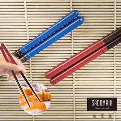 仙德曼 SADOMAIN 手染和風筷5雙-三銀