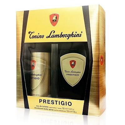 Lamborghini Prestigio 藍寶堅尼 -  金色力量男香禮盒