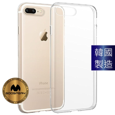 GOOSPERY iPhone 7 Plus (5.5) 防塵超薄TPU透明軟殼...