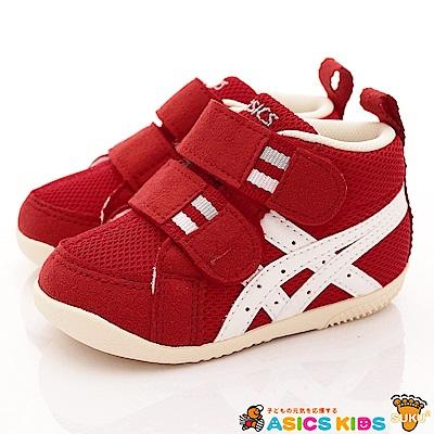 亞瑟士SUKU2機能鞋 護踝短筒款 ON10-2399紅(寶寶段)