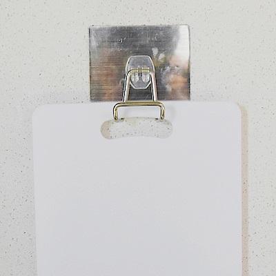 完美主義 不鏽鋼大掛勾/砧板架/金屬貼面(2入組)-4.5x3x5
