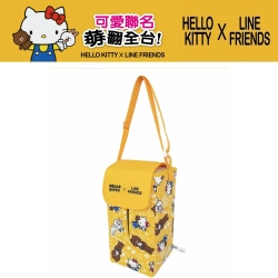 Hello Kitty ╳ LINE 可愛面紙盒掛袋 (可吊掛車內頭枕)